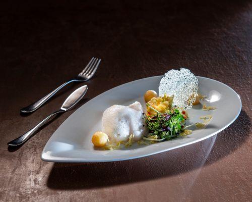 À la carte delights fish dish - Hotel Elisabeth ©Rupert Mühlbacher (GA-Service)