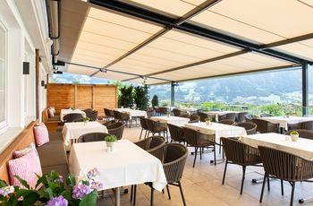 Sun terrace Hotel Elisabeth ©Rupert Mühlbacher (GA-Service)